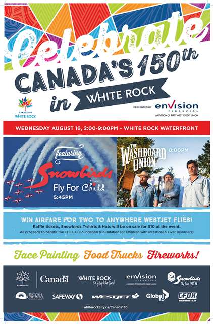Celebrate Canada 150 - White Rock BC