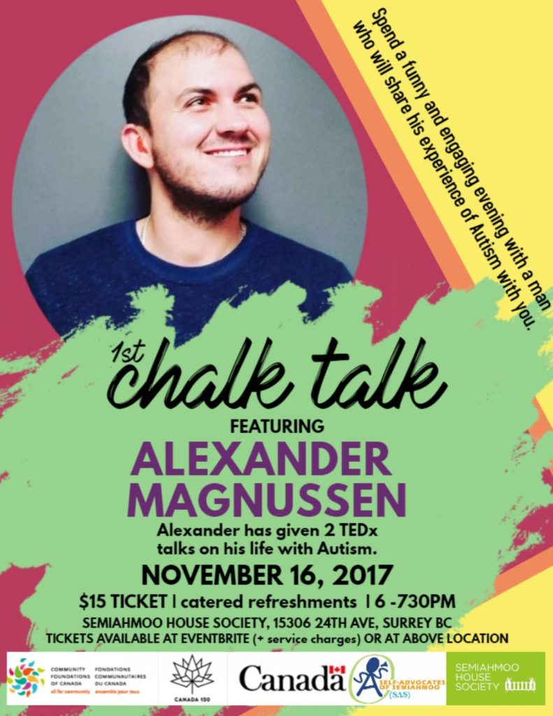 Chalk Talk with Alexander Magnussen
