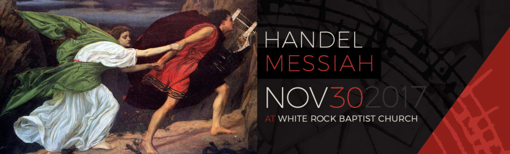 EMV - Handel's Messiah, White Rock