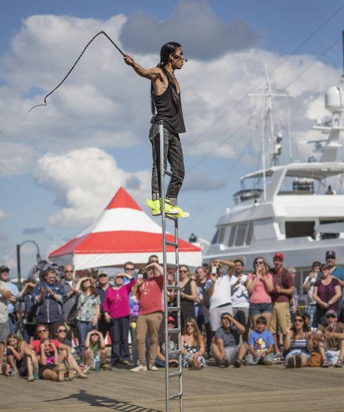 White Rock Buskers Festival 2018 | Allez-Oops