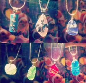 stone necklaces at bellas