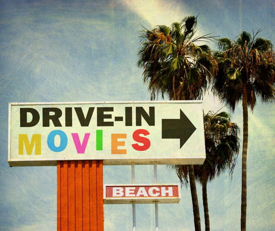 Summer Drive-In Movies - White Rock, BC