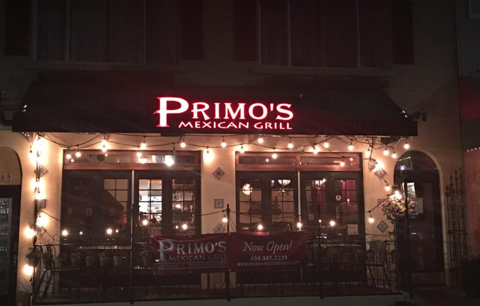 primos mexican grill white rock
