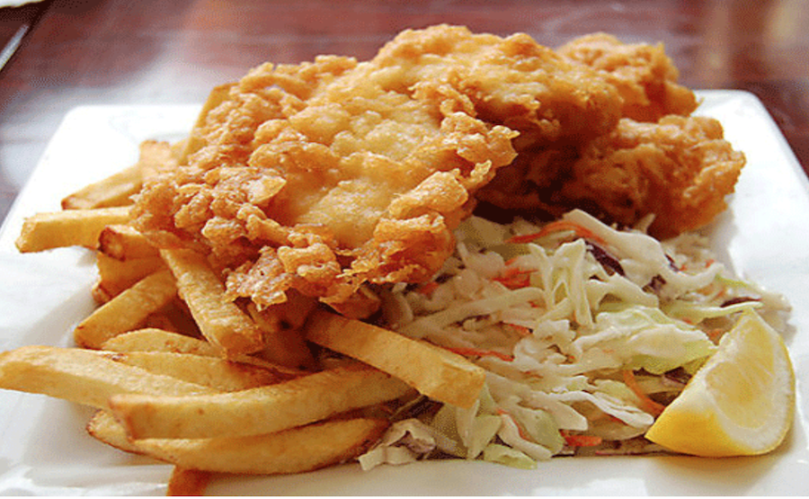 Saltys Fish and Chips, White rock