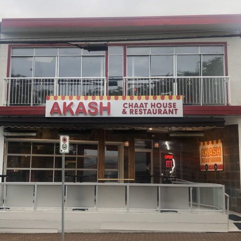 akash chaat house - white rock